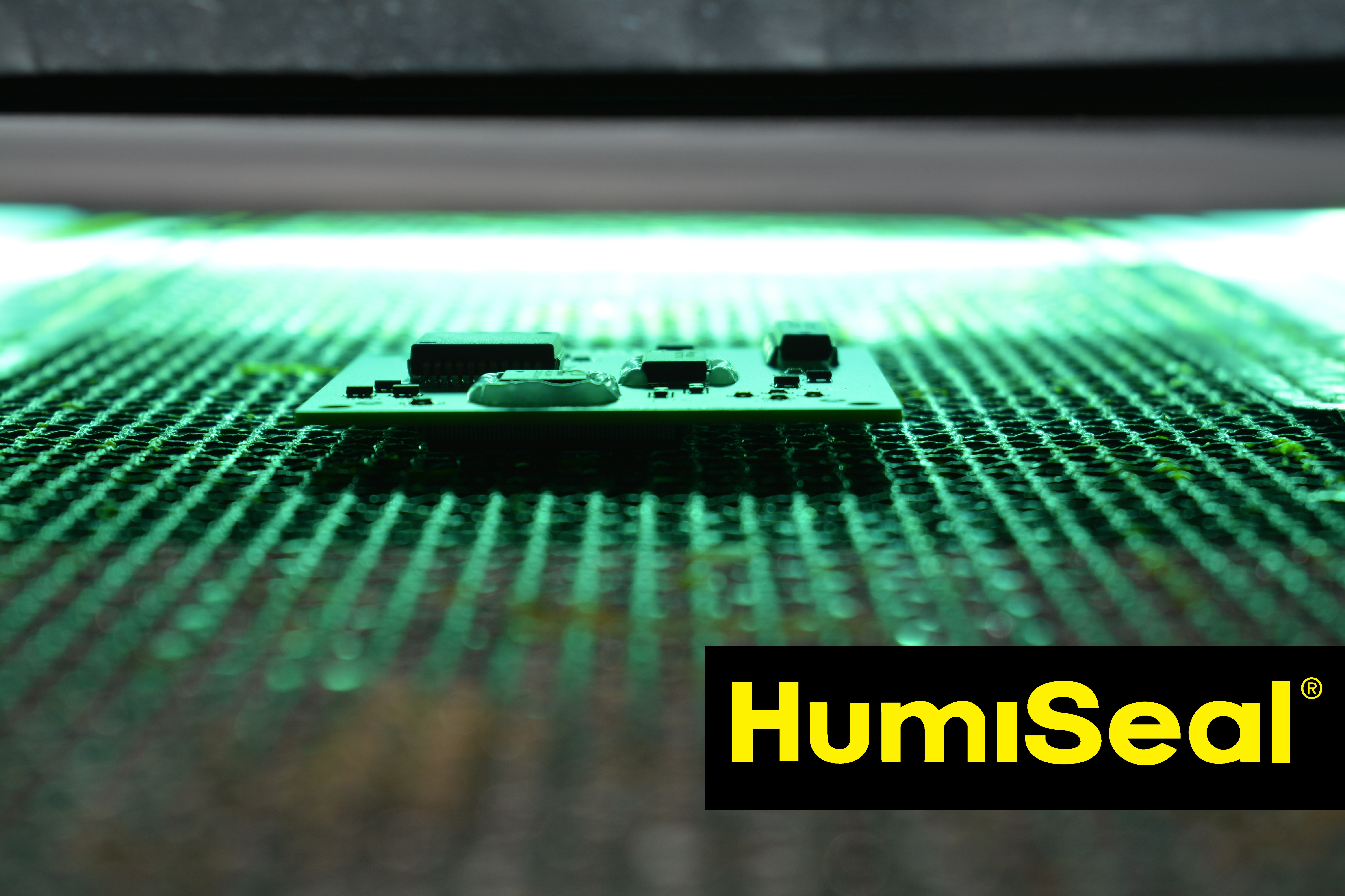 Curing HumiSeal Conformal Coatings with UV light