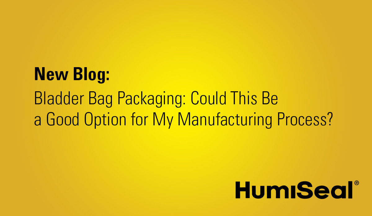 New Blog-  Bladder Bag Packaging- Could This Be  a Good Option for My Manufacturing Process