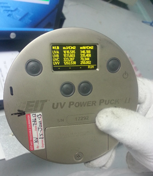 UV Curing Of Confomal Coating - UV Puck